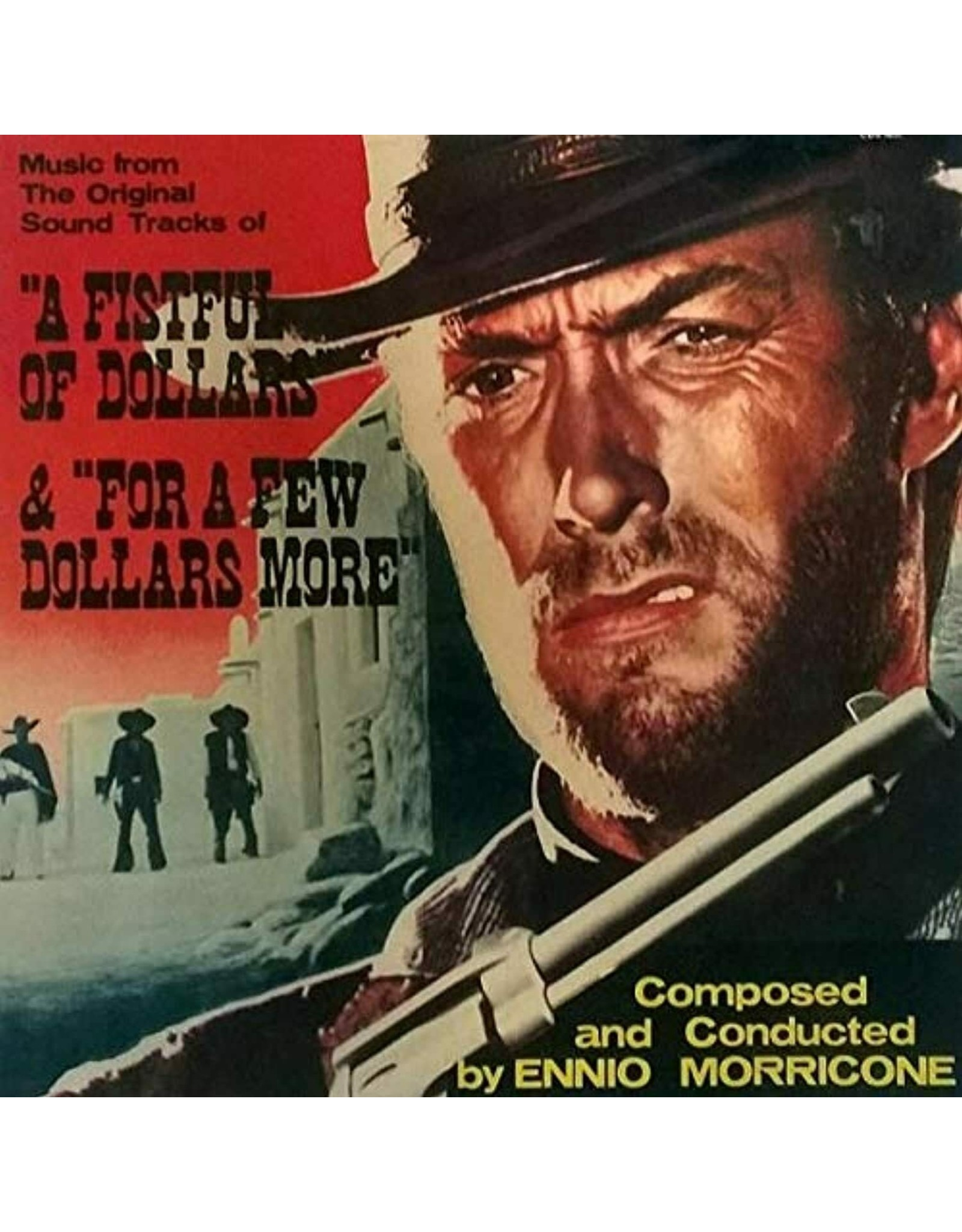 OST - A Fistful of Dollars & For a Few Dollars More LP (Limited Edition Oxblood Heavy Vinyl)