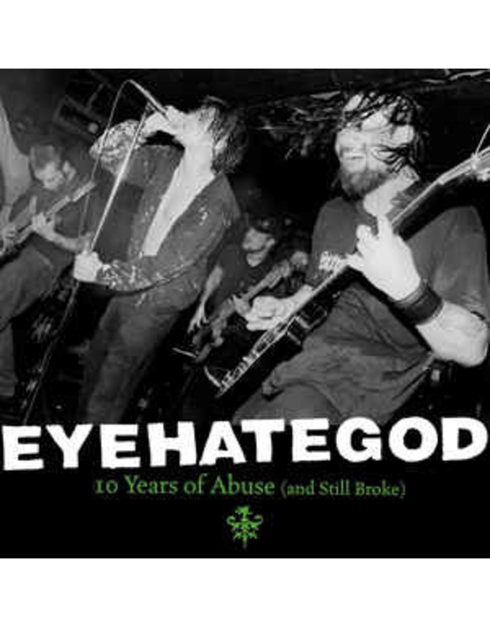 Eyehategod - 10 years of Abuse LP (Limited Splatter Vinyl)