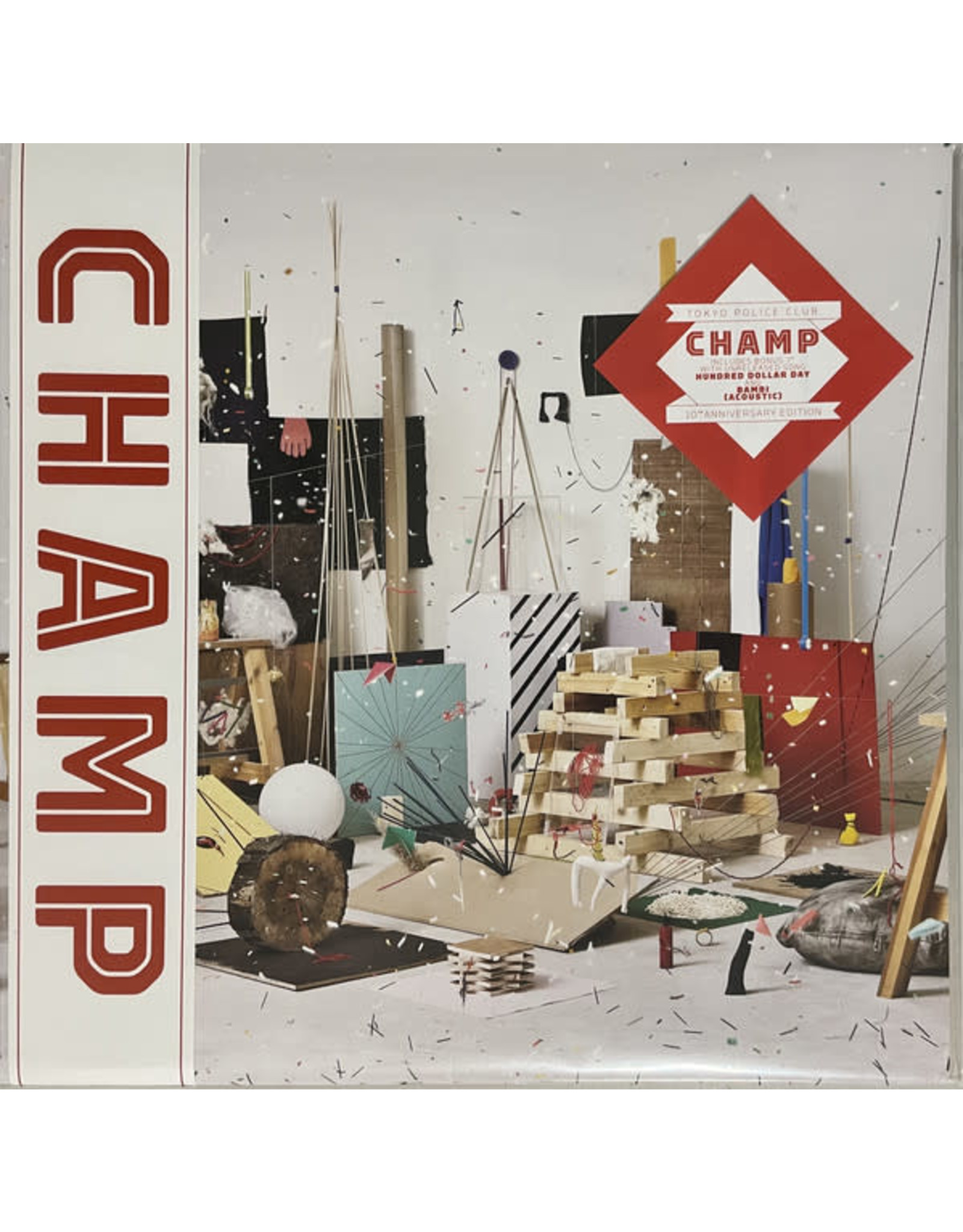 Tokyo Police Club - Champ LP (10th Anniversary Edition Green Vinyl)