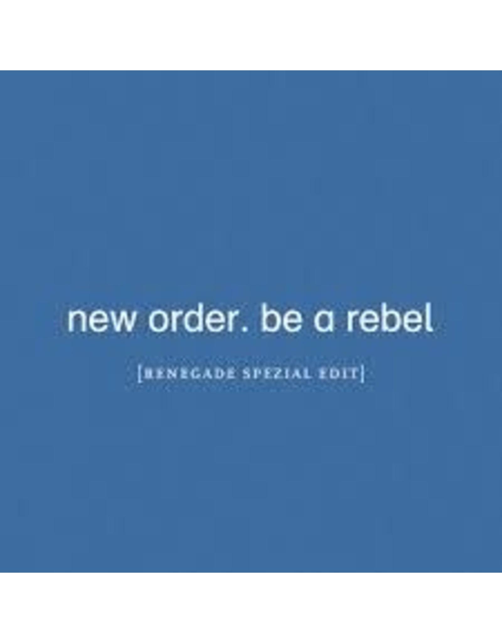 "New Order - Be A Rebel 12"" Single LP"