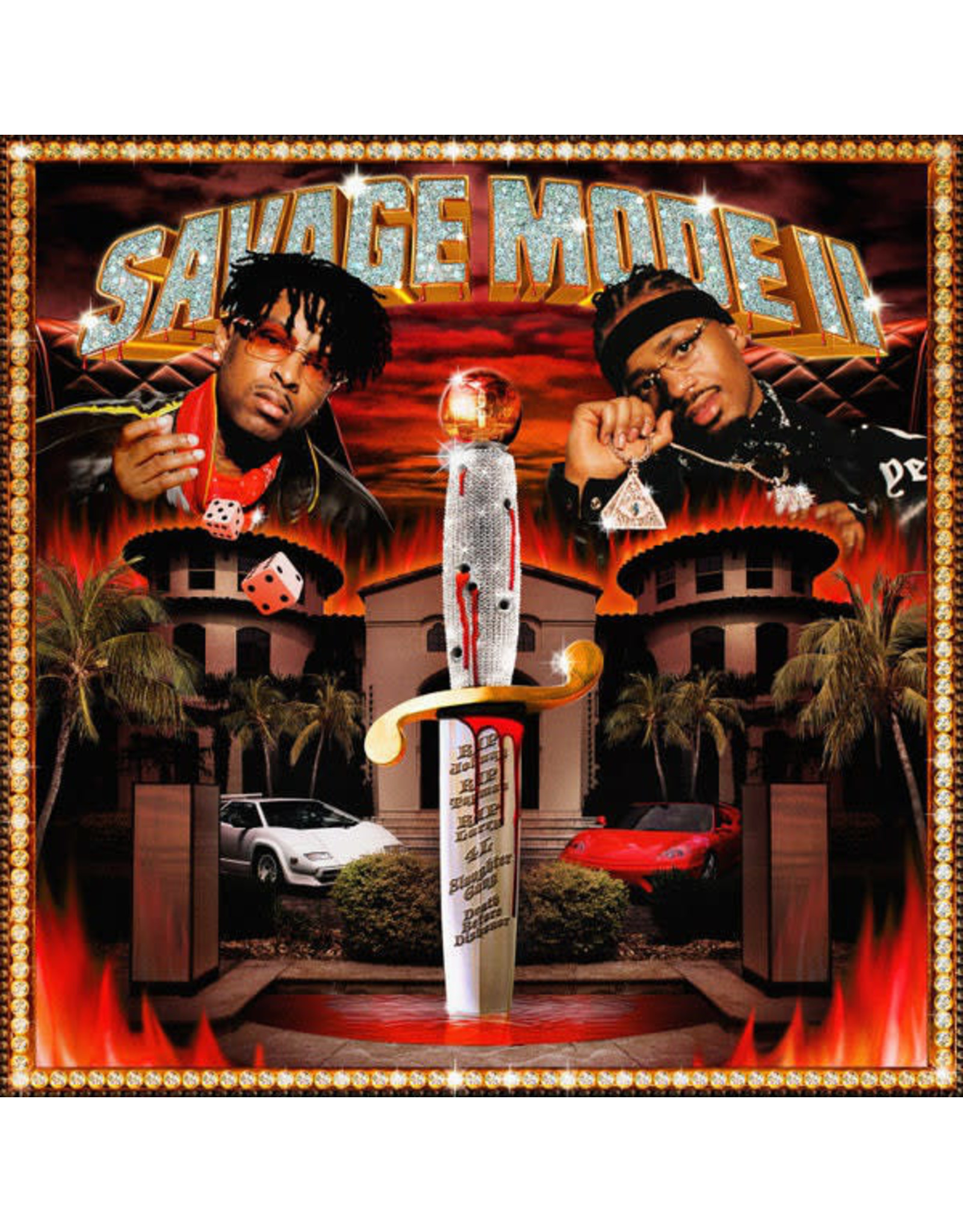 21 Savage & Metro Boomin - Savage Mode II LP (Red Translucent)