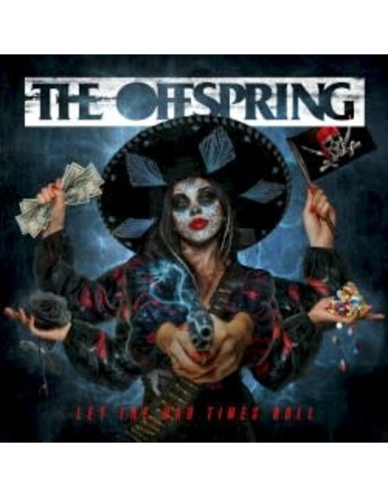 Offspring - Let The Bad Times Roll (Indie exclusive orange crush coloured vinyl)