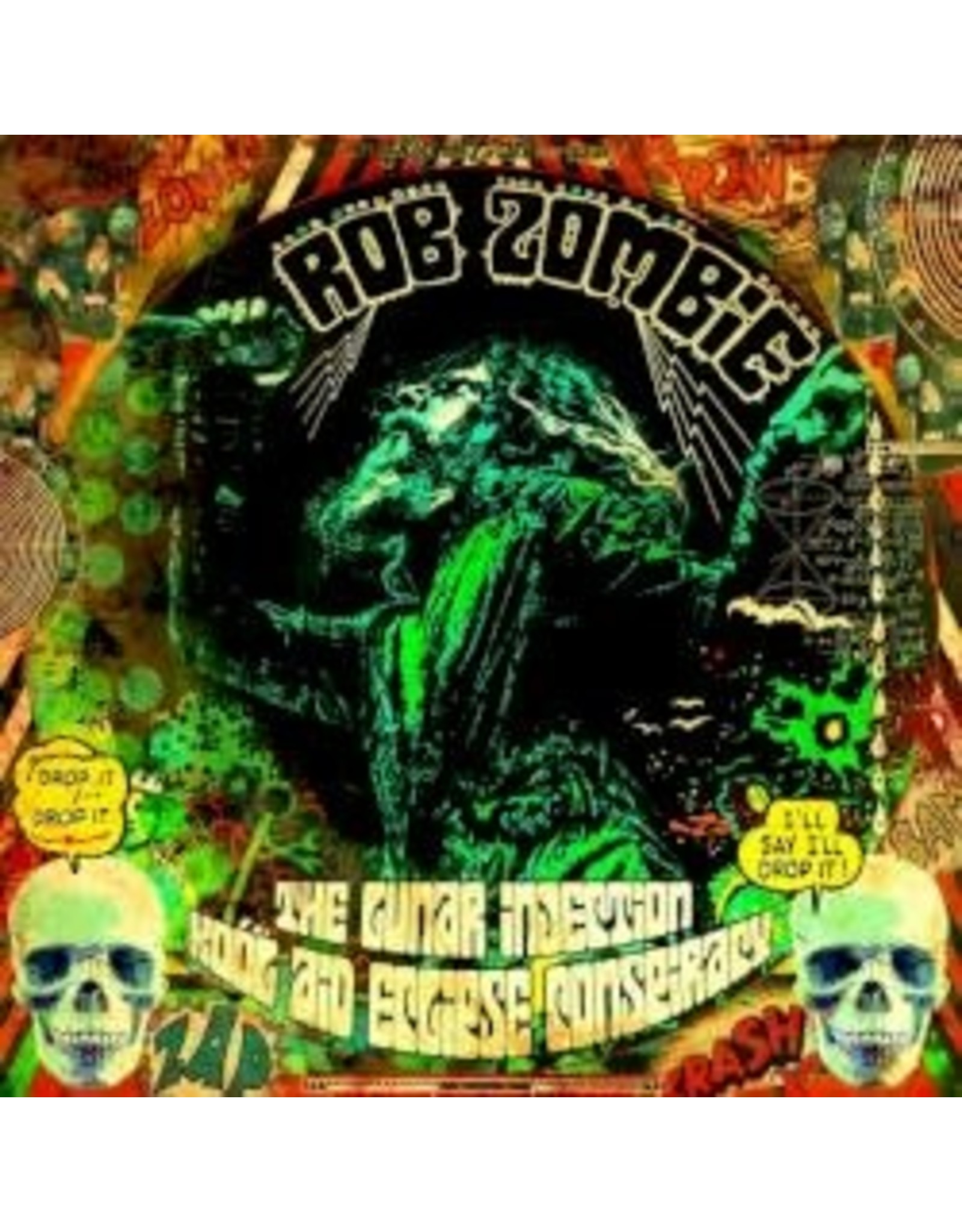 Zombie, Rob - The Lunar Injection Kool Aid Eclipse Conspiracy LP (red/white/black splatter)