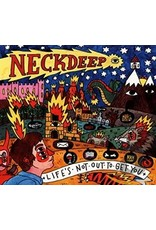 Neck Deep - Life's Not Out to Get You LP (Pink, Blue & Yellow Swirl)