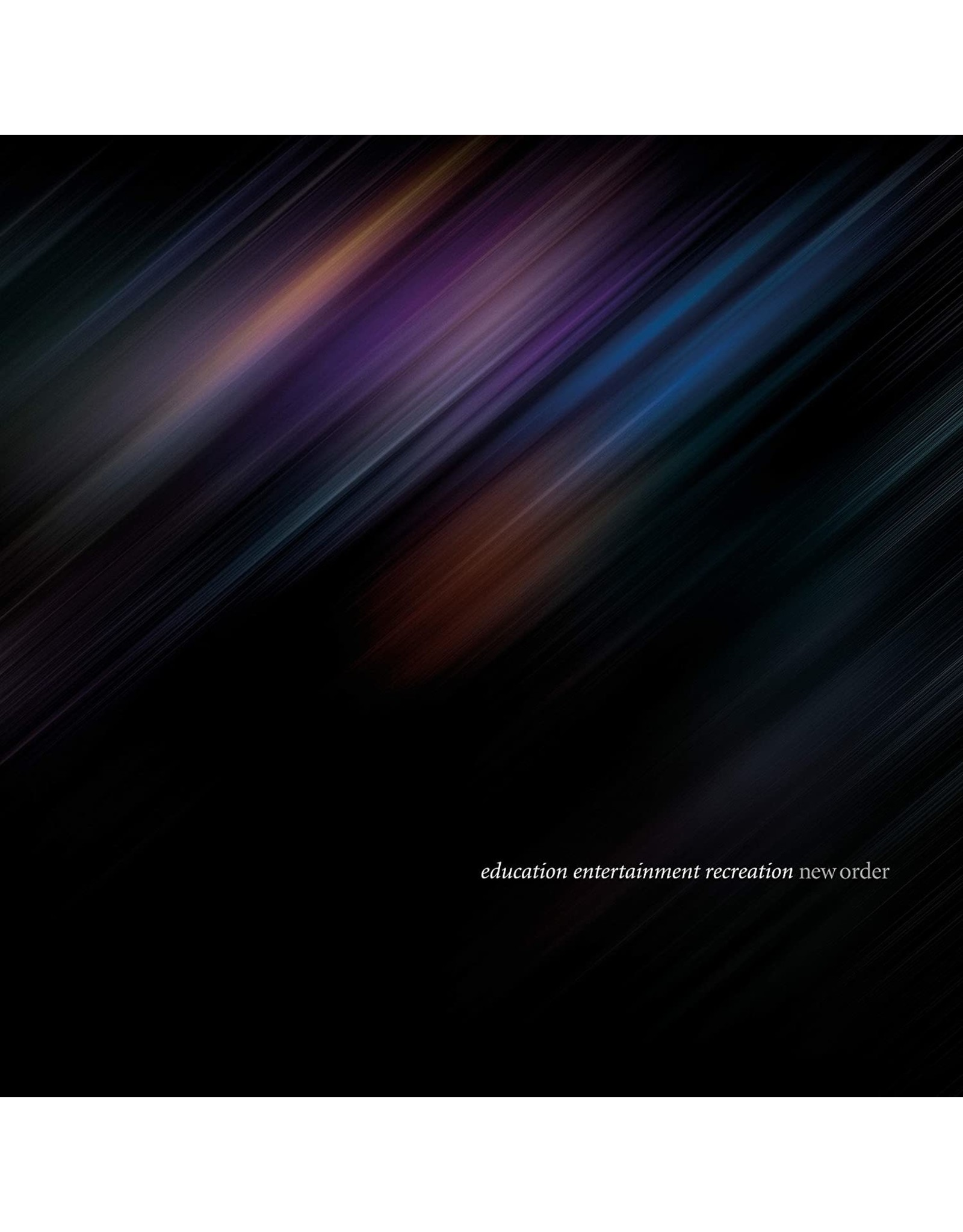 New Order - Education Entertainment Recreation: Live at Alexandra Place 3LP