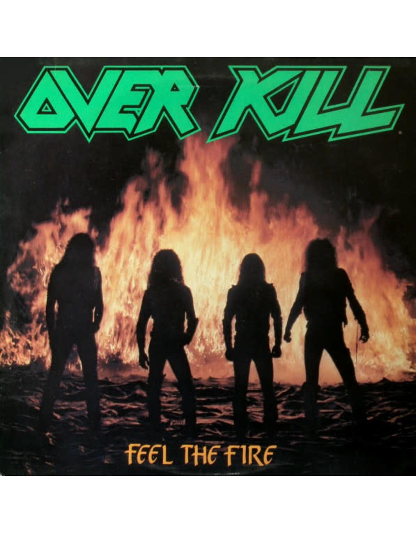 Overkill - Feel the Fire LP ( Clear Green Vinyl )