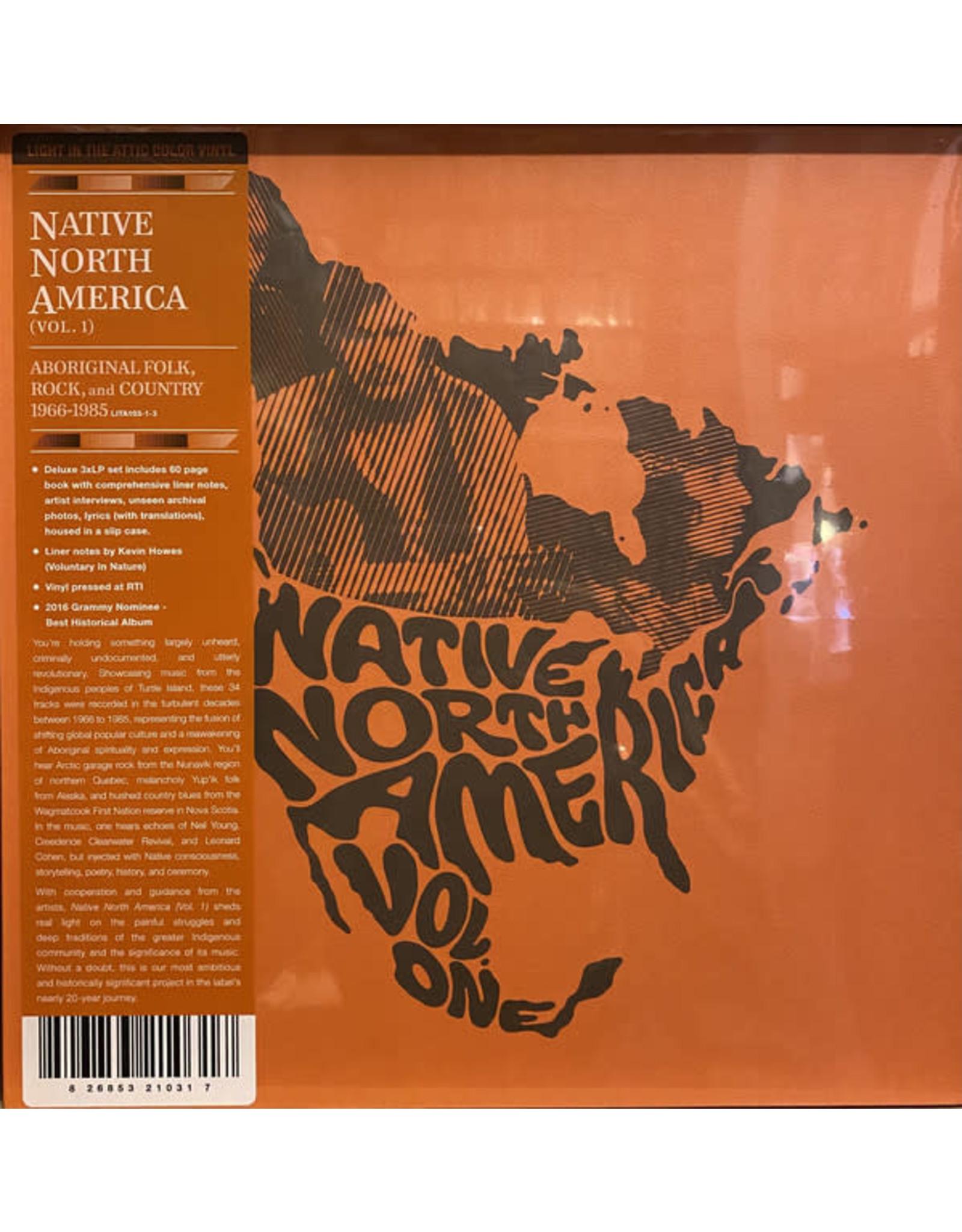 Native North America Volume 1 - Aboriginal, Folk, Rock and Country LP (3LP Coloured Vinyl Boxset with Book)