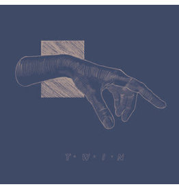 Twin - Twin LP (Blue Vinyl with Screen Printed B Side)