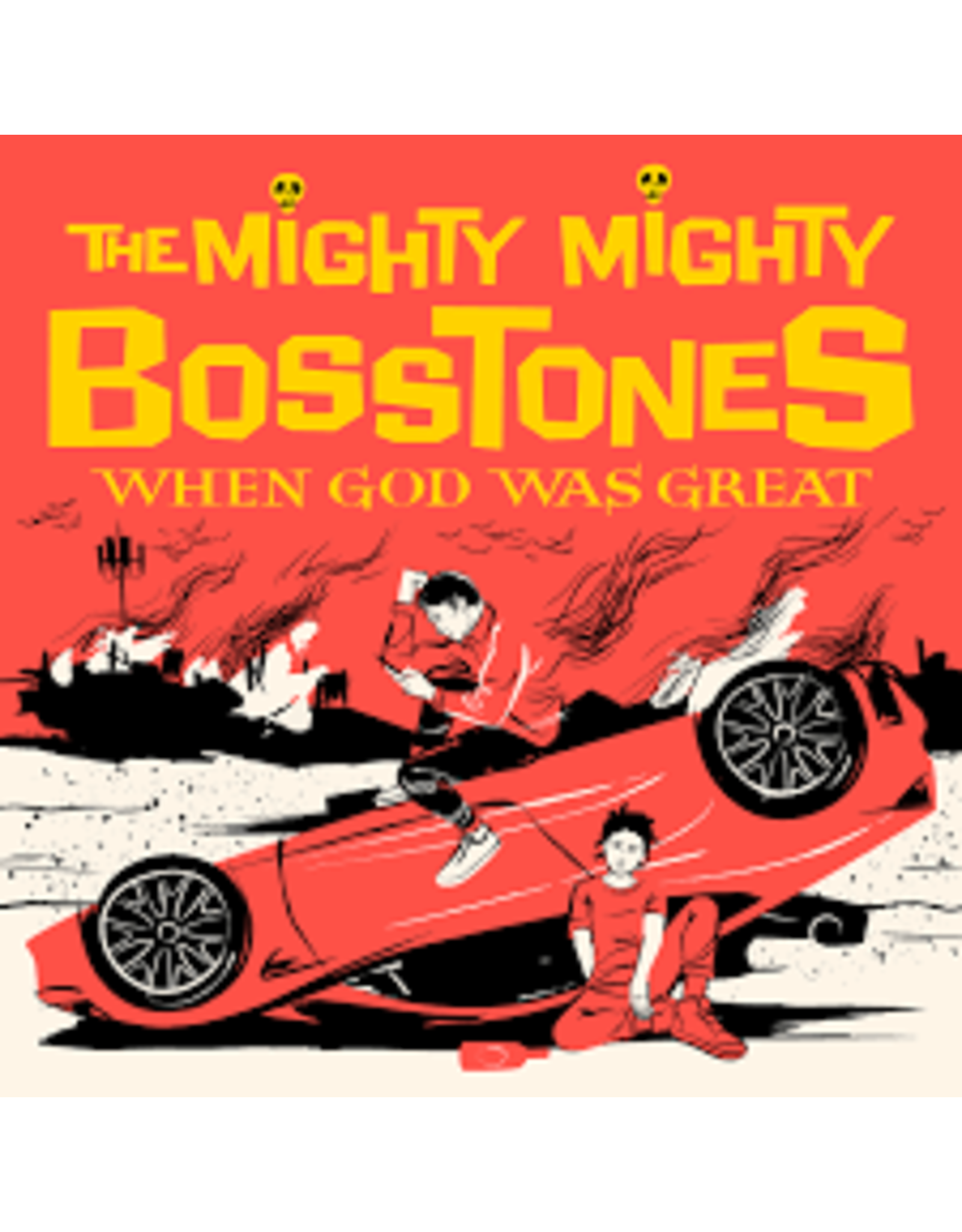 Mighty Mighty Bosstones - When God Was Great LP (Yellow Vinyl)
