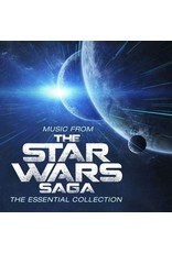 O.S.T. - Music From The Star Wars Saga LP (Green Marbled Vinyl)