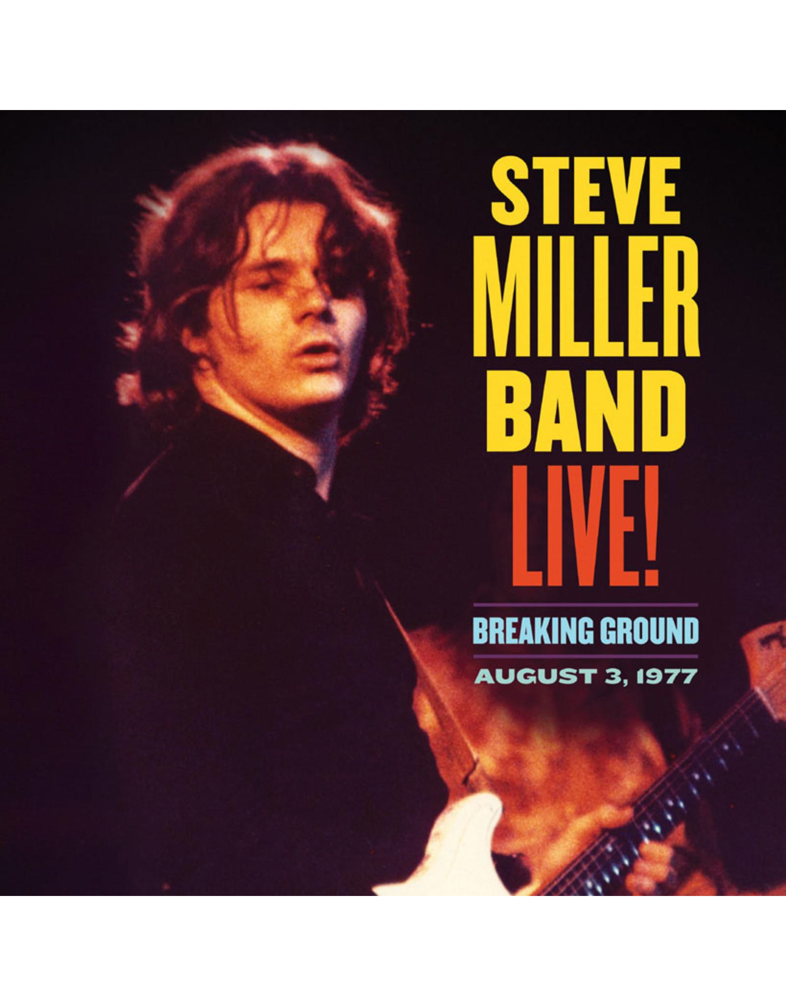 Miller, Steve Band - Breaking Ground Live: August 3 1977 CD