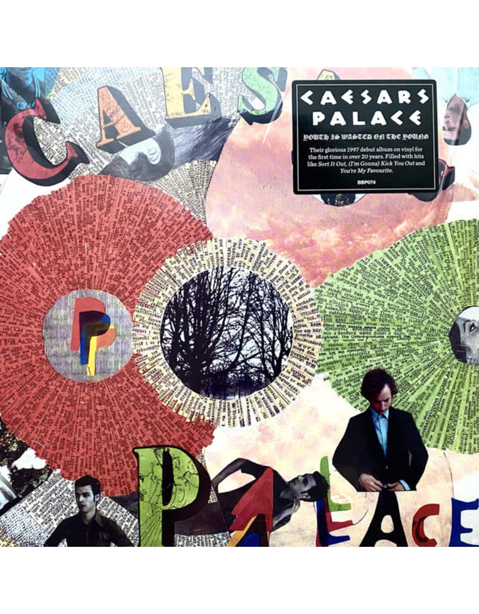 Caesars Palace - Youth is Wasted on the Young LP