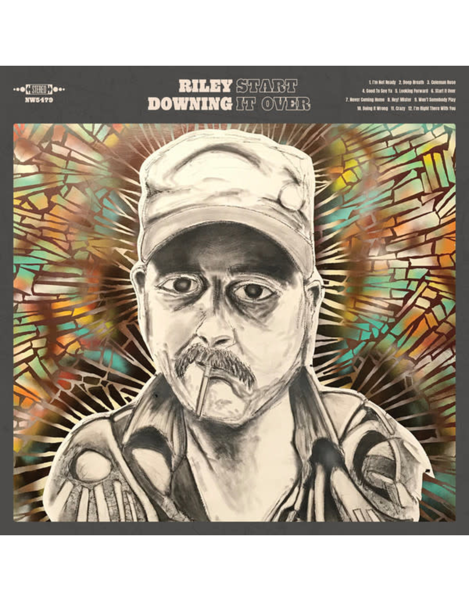 Downing, Riley - Start It Over LP (Sea Glass & Turquoise Vinyl)