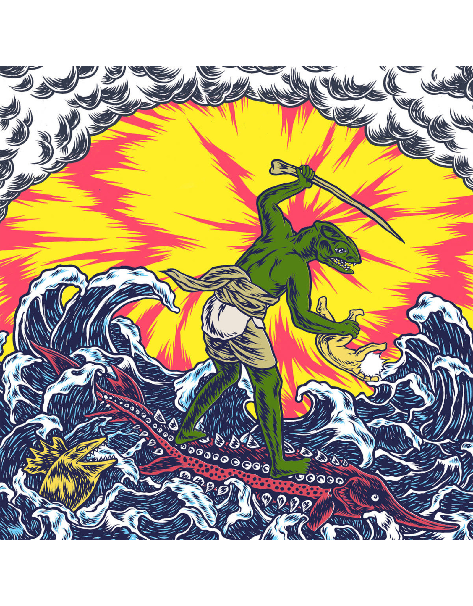 "King Gizzard and the Lizard Wizard - Teenage Gizzard LP (Canadian Exclusive w/bonus 7""  500 copies)"