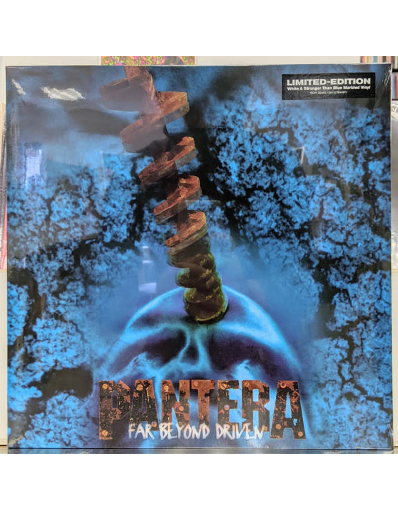 Pantera - Far Beyond Driven LP (Blue & White Marbled)
