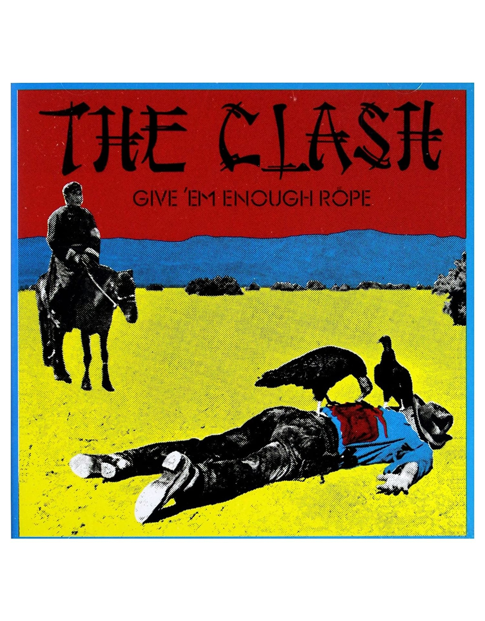 Clash, The - Give 'Em Enough Rope LP