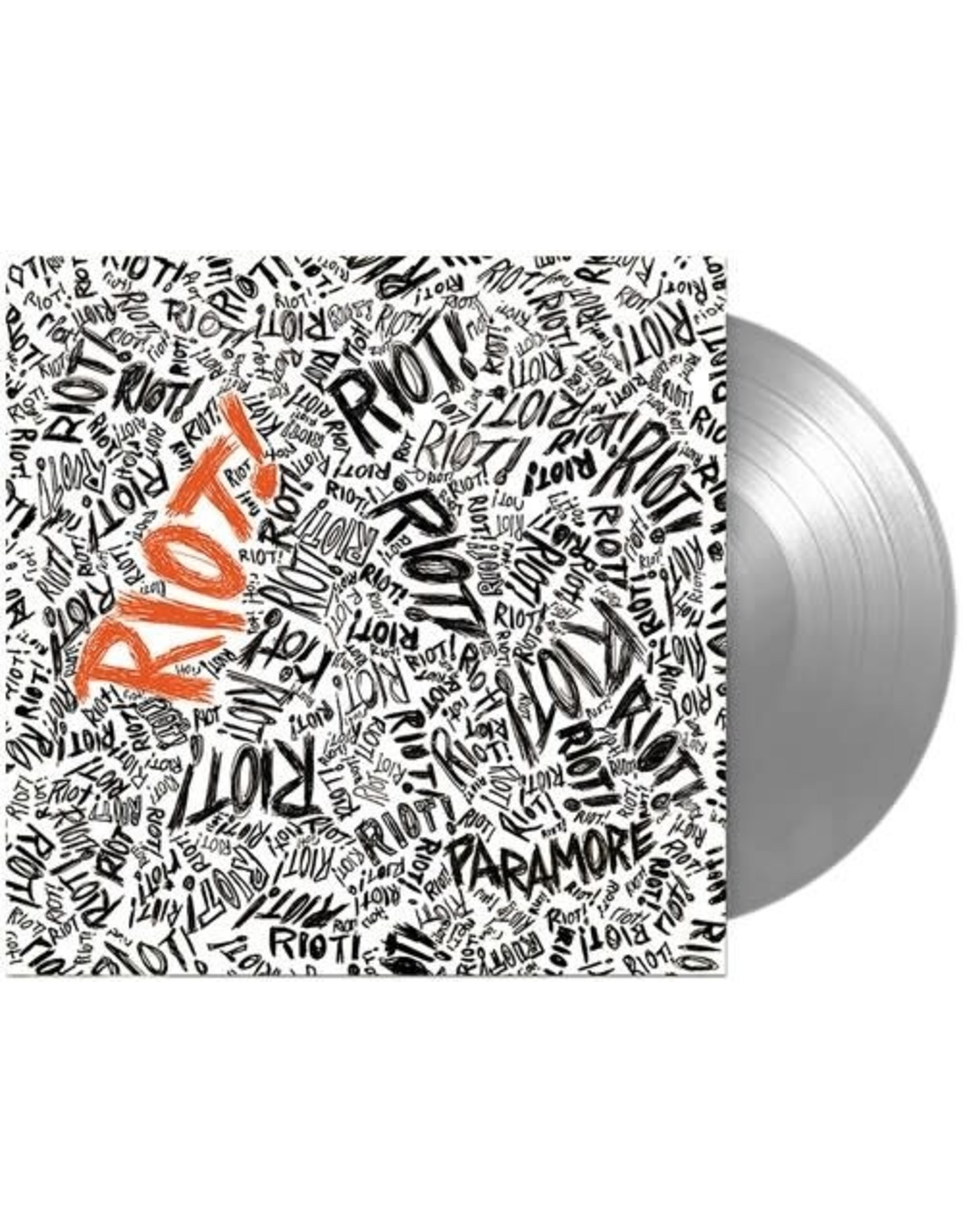 Paramore - Riot! LP (FBR 25th Anniversary Silver Viny)