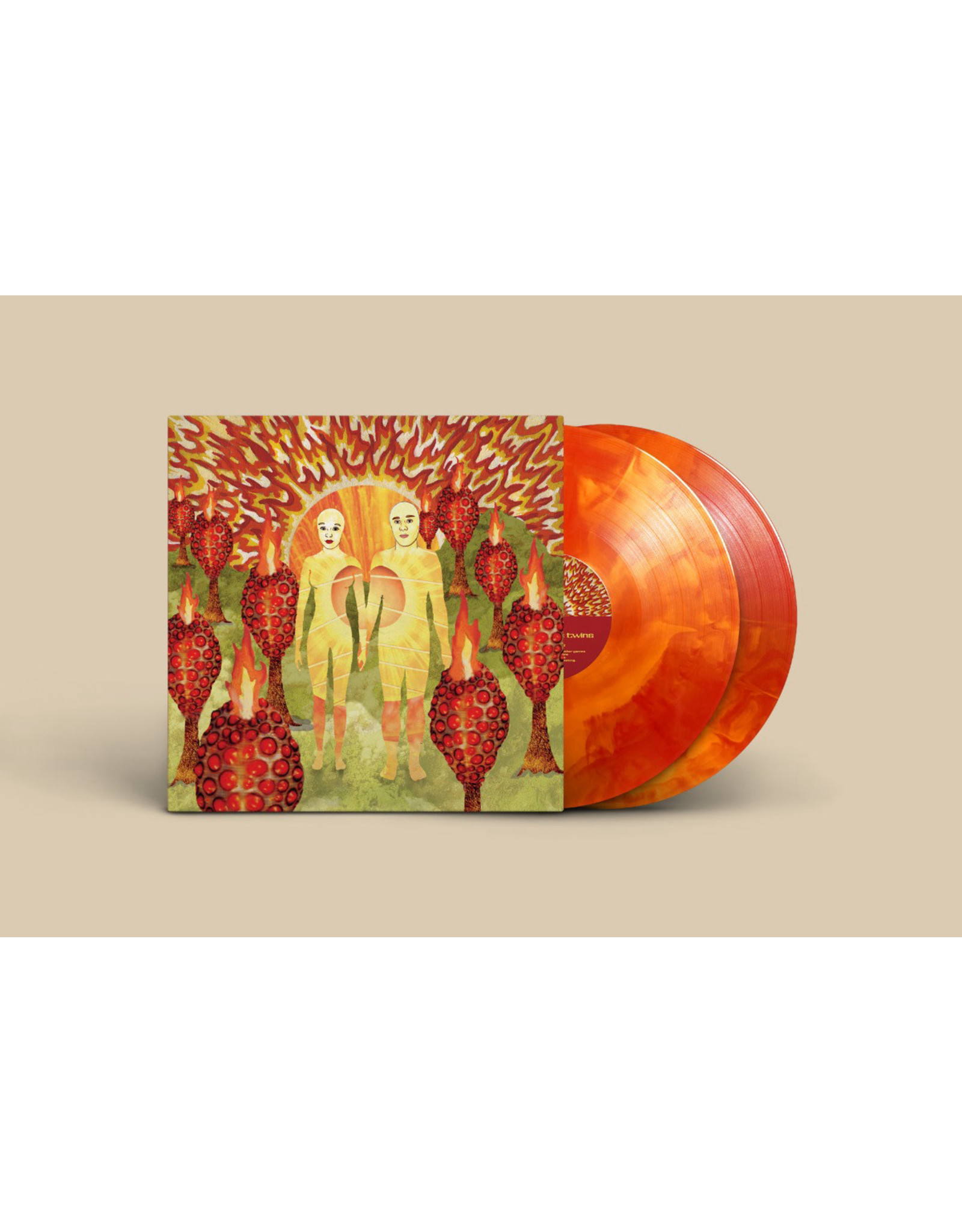 Of Montreal - The Sunlandic Twins LP (Dlx. Ed. Red/Orange Swirl)
