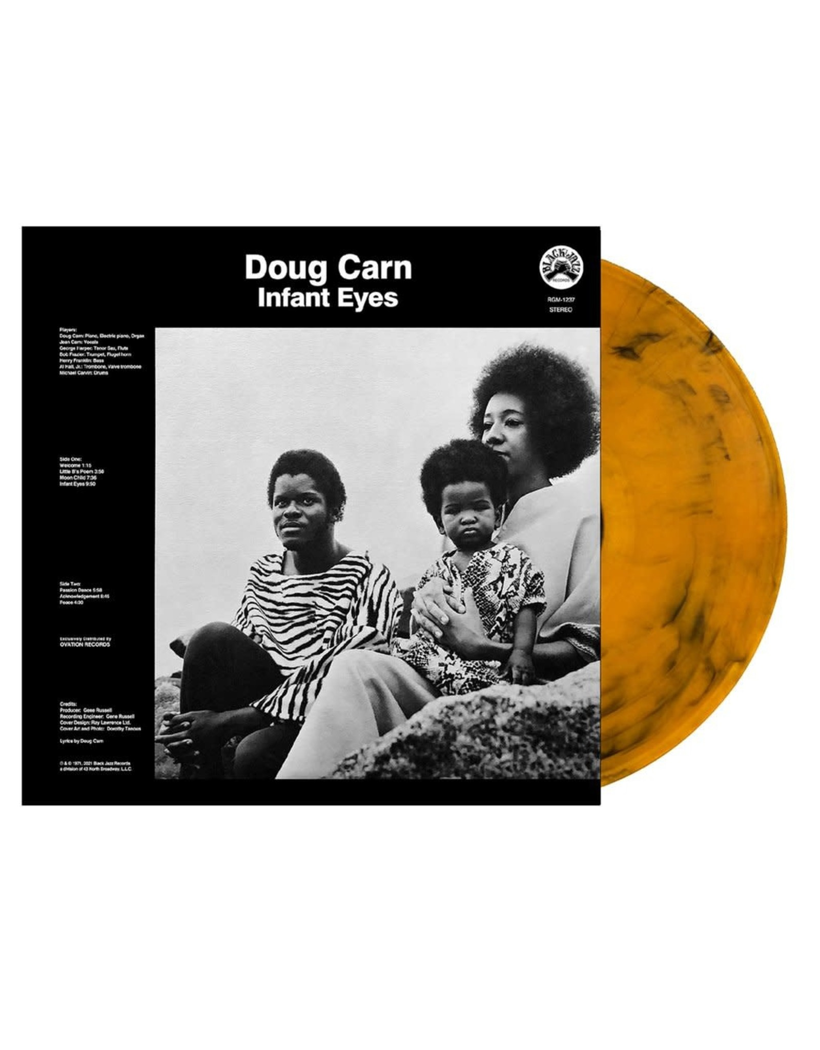 Carn, Doug - Infant Eyes LP (Ltd. Orange w/ Black Swirl Vinyl)
