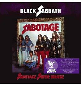 """Black Sabbath - Sabotage Super Deluxe 4LP + 7"""" Box"""