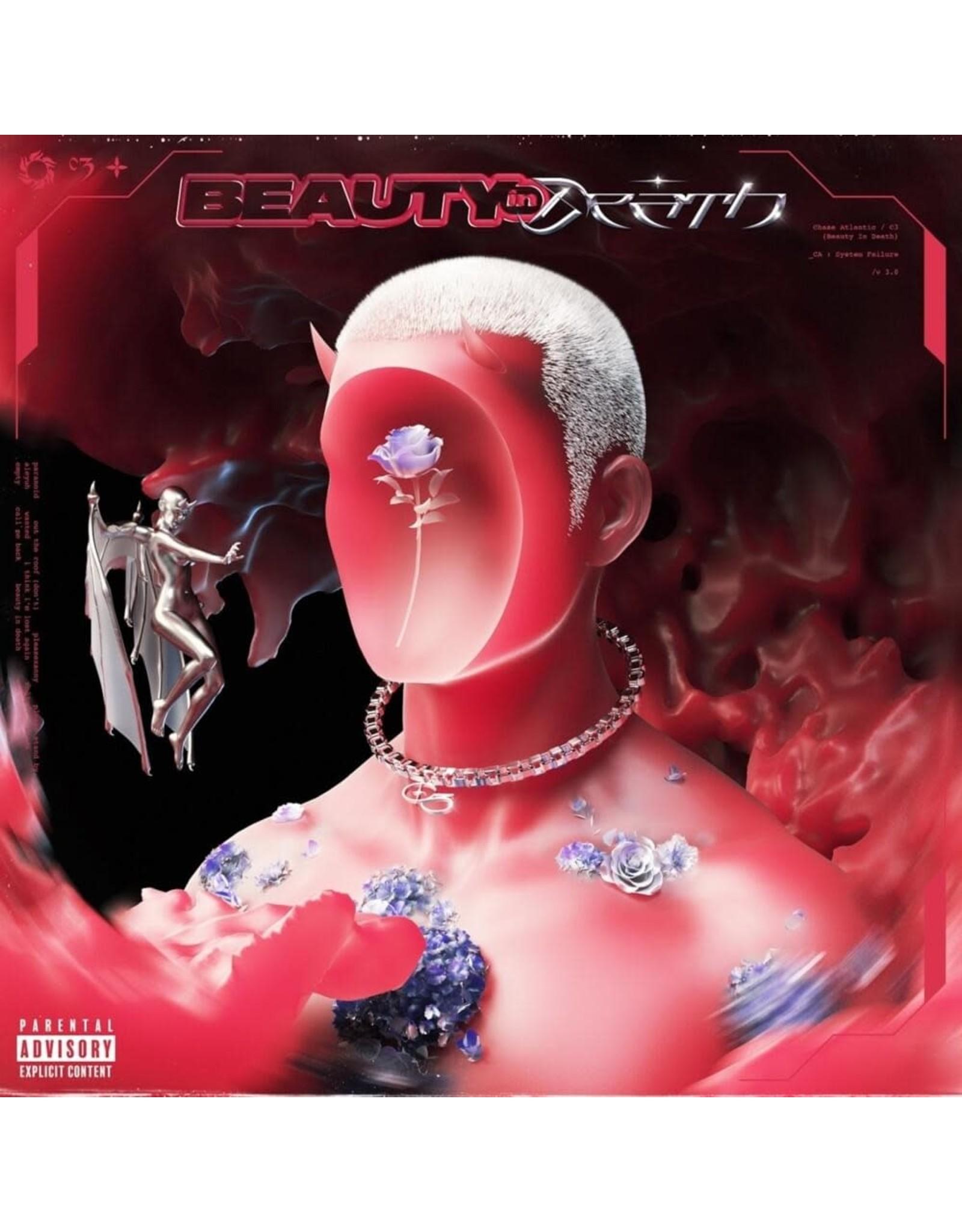 Chase Atlantic - Beauty in Death LP (Black w/White Swirl Vinyl)