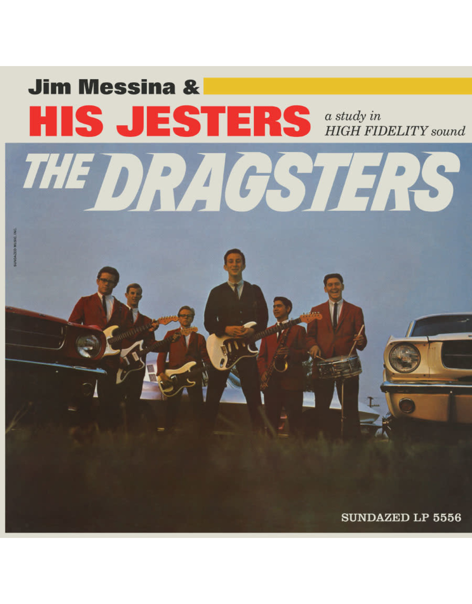 Messina, Jim & His Jesters -  The Dragsters LP (RSD '21 Exclusive)