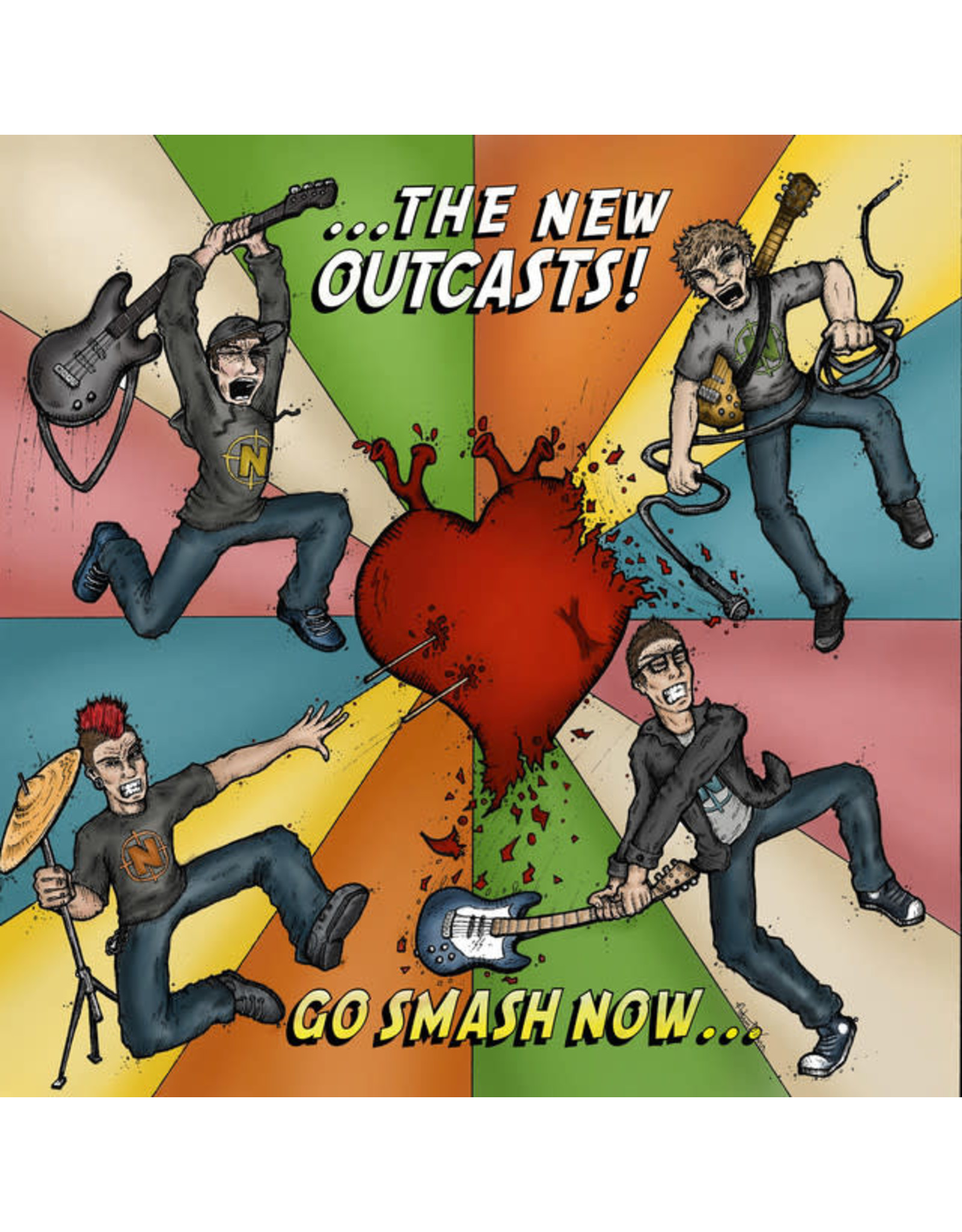 New Outcasts, The - Go Smash Now CD