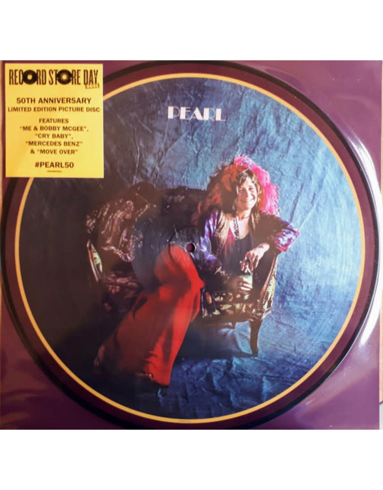 Joplin, Janis - Pearl LP (50th Anniv Ltd RSD Picture Disc)