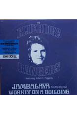 Fogerty, John  & The Blue Ridge Rangers - Jambalaya / Workin On A Building  EP (RSD Blue Vinyl)