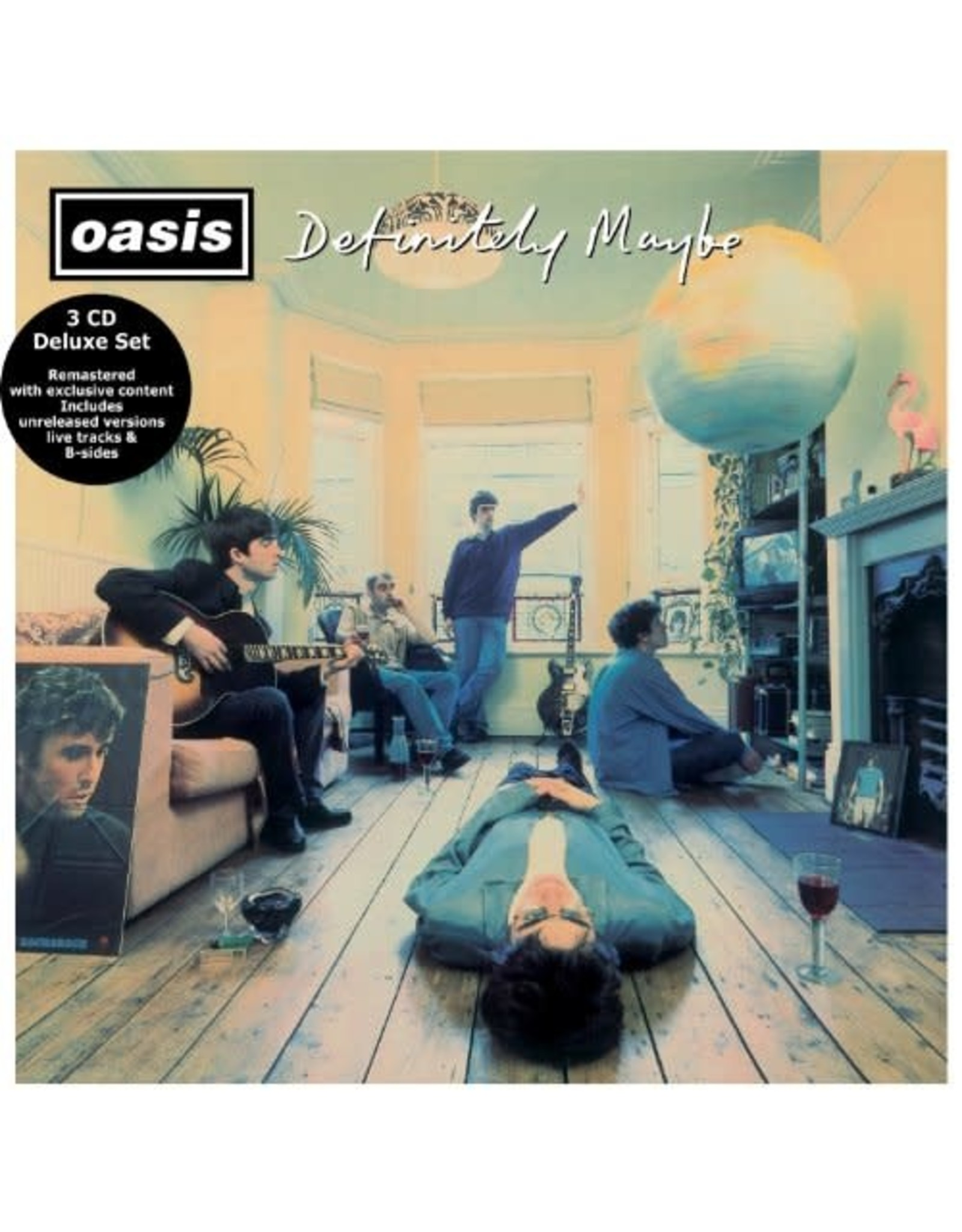 Oasis - Definitely Maybe 3CD Deluxe