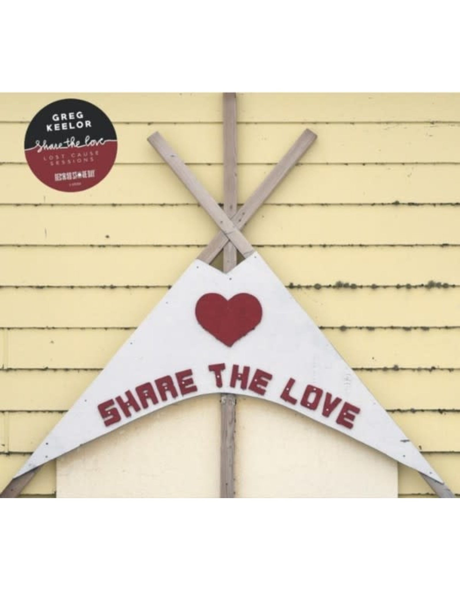 Keelor, Greg - Feel The Love LP (RSD Ltd)