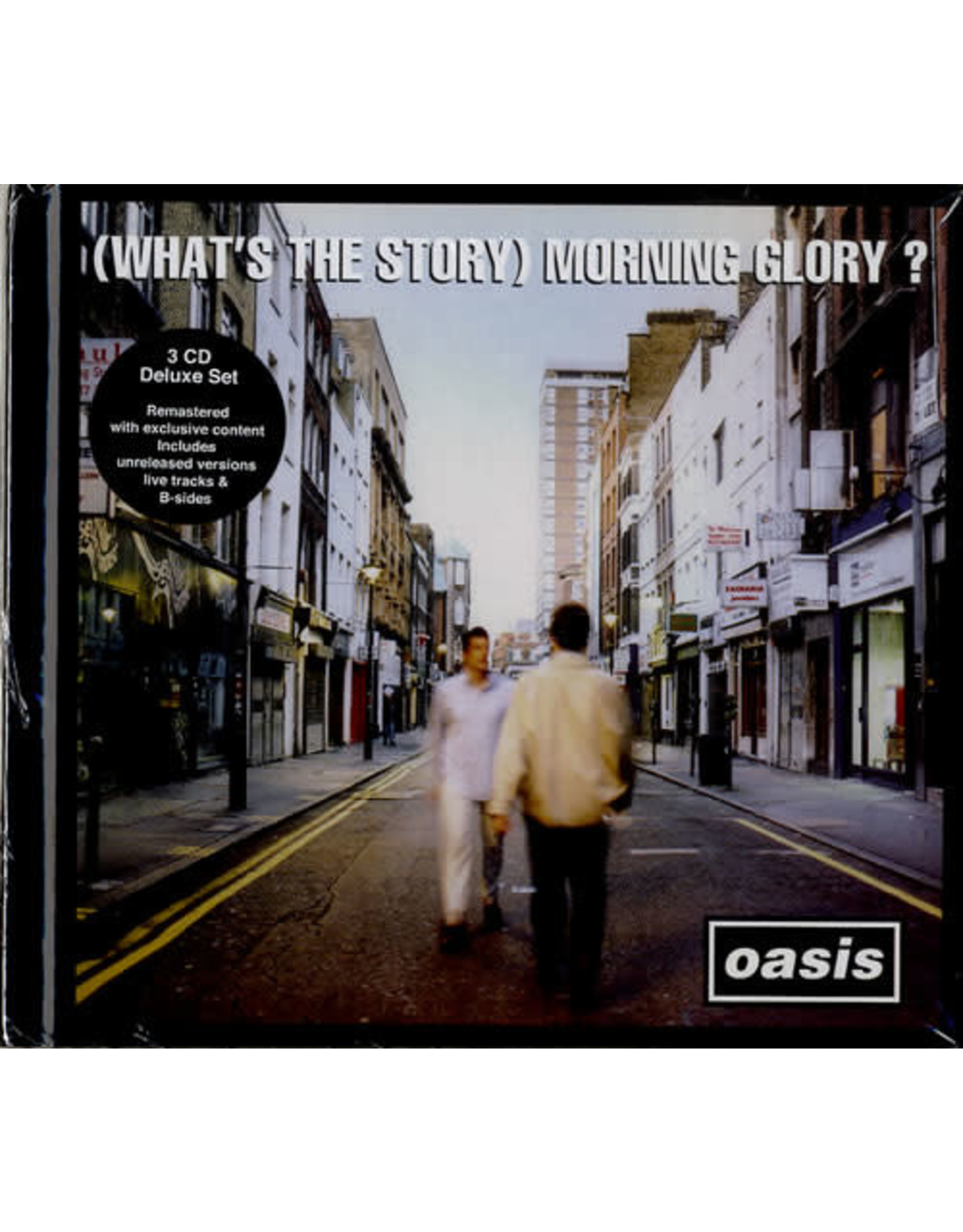 Oasis - (What's the Story) Morning Glory 3CD Dlx