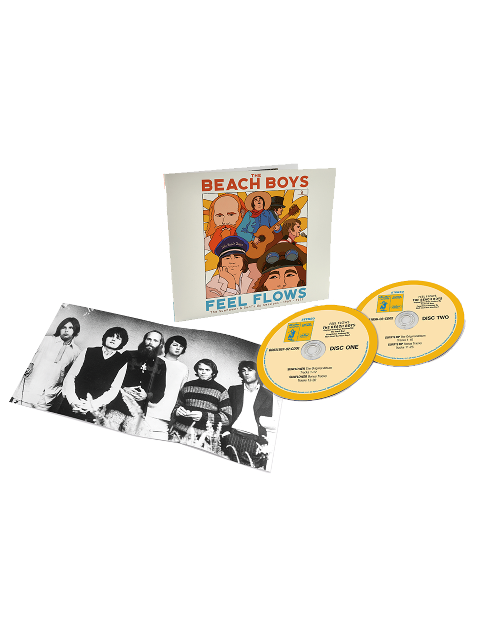 Beach Boys, The - Feel Flows: The Sunflower & Surf's Up Sessions 1969 - 1971 2CD