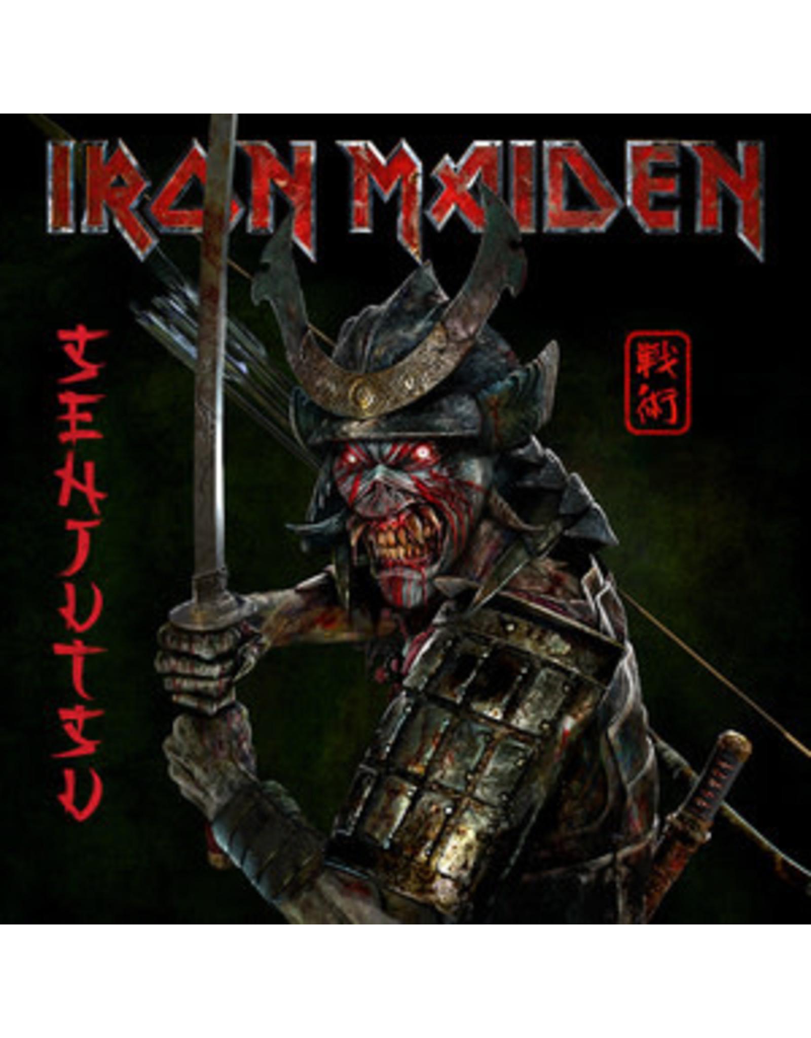 Iron Maiden - Senjutsu 3LP (180G Red & Black Marble Vinyl)