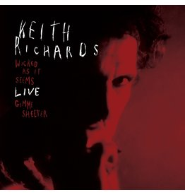 """Richards, Keith - Wicked As It Seems/Gimmie Shelter Live 7"""" (RSD21' Exclusive Red Vinyl)"""