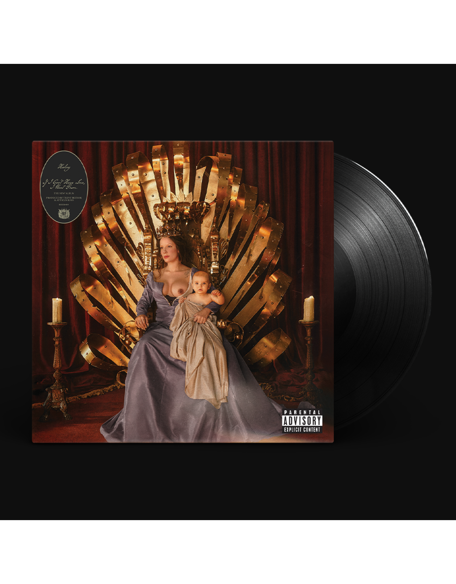 Halsey - If I Can't Have Love, I Want Power LP