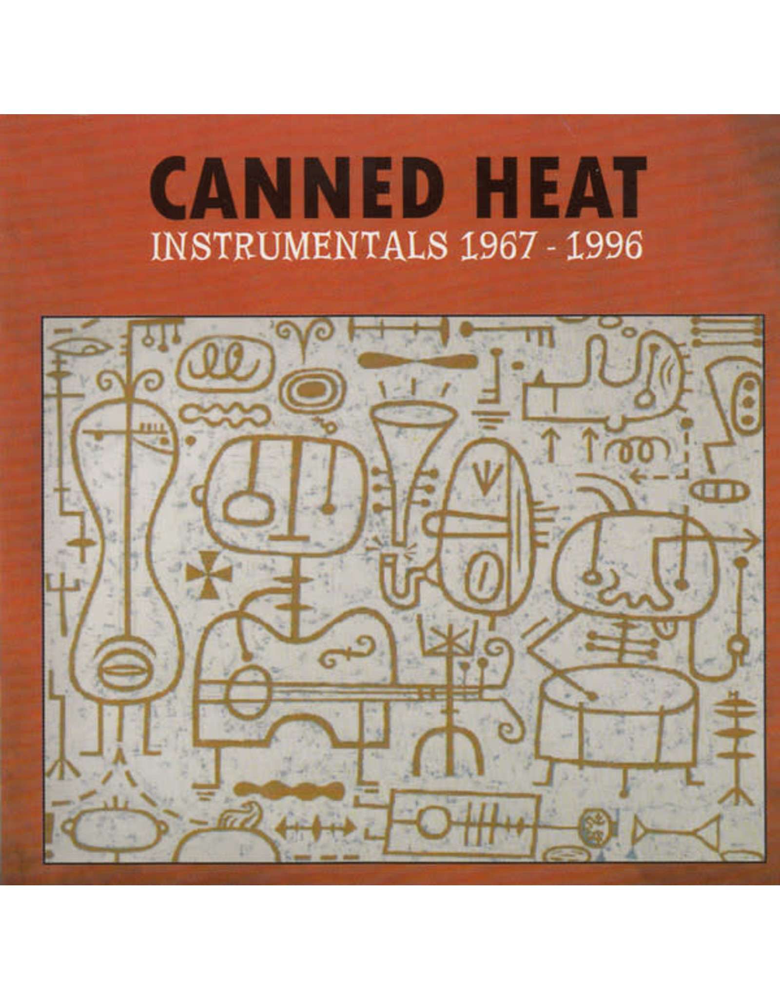 Canned Heat - Instrumentals 1967 - 1996 CD
