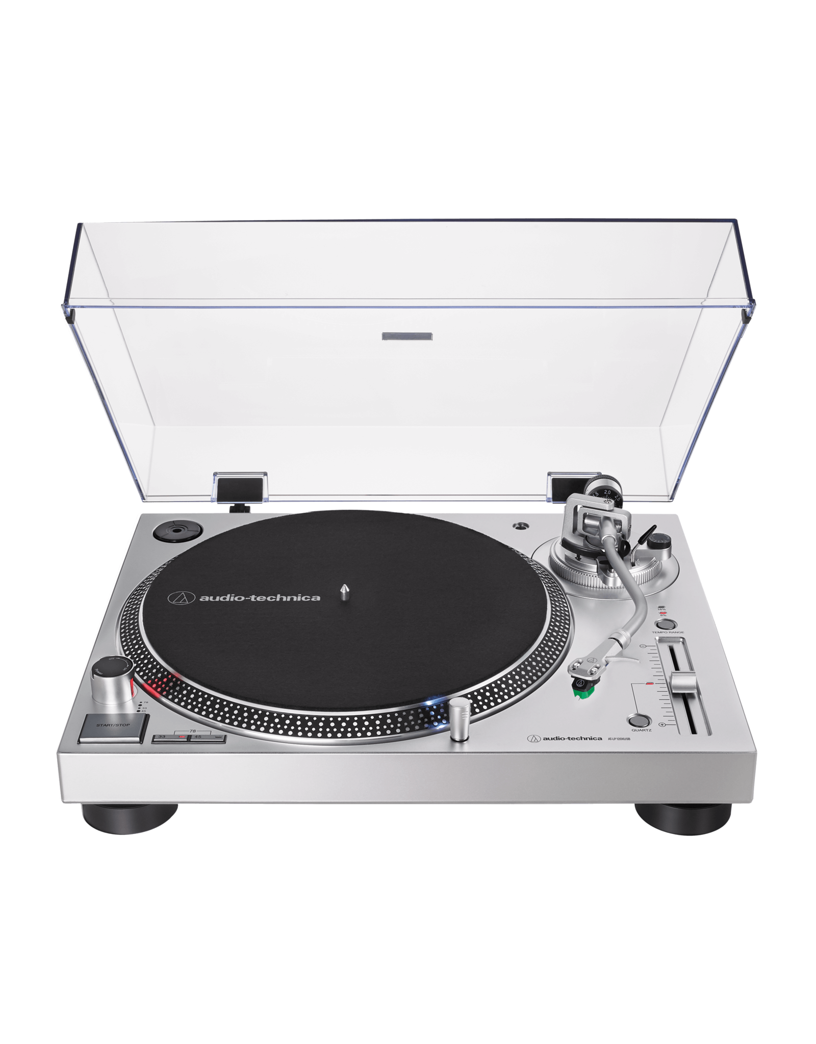 Audio-Technica AT-LP120X USB (Silver) Turntable