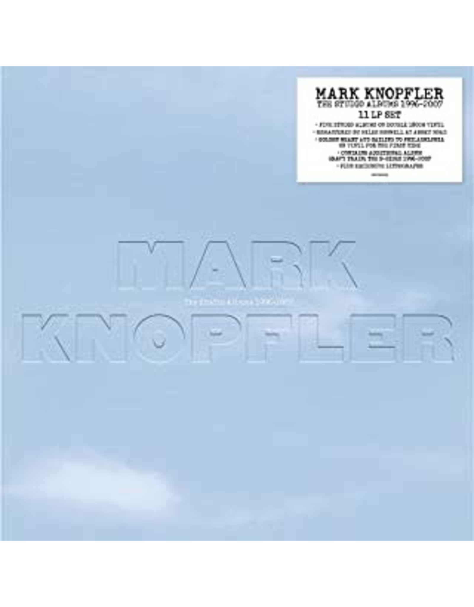 Knopfler, Mark - Studio Albums 1996-2007 11 LP SET LP