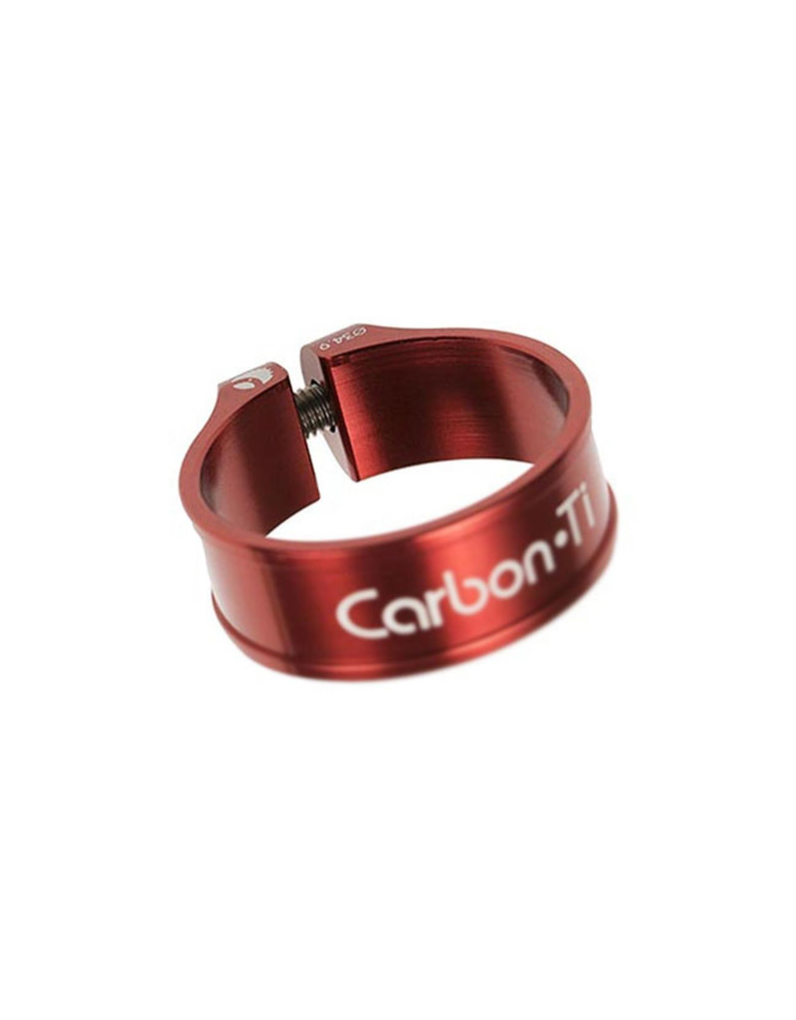 Carbon-Ti Carbon-Ti X-Clamp Seatpost Collar