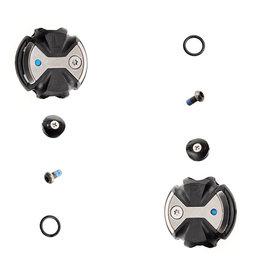 Wahoo Speedplay Zero Stainless Pedal Body Kit Black