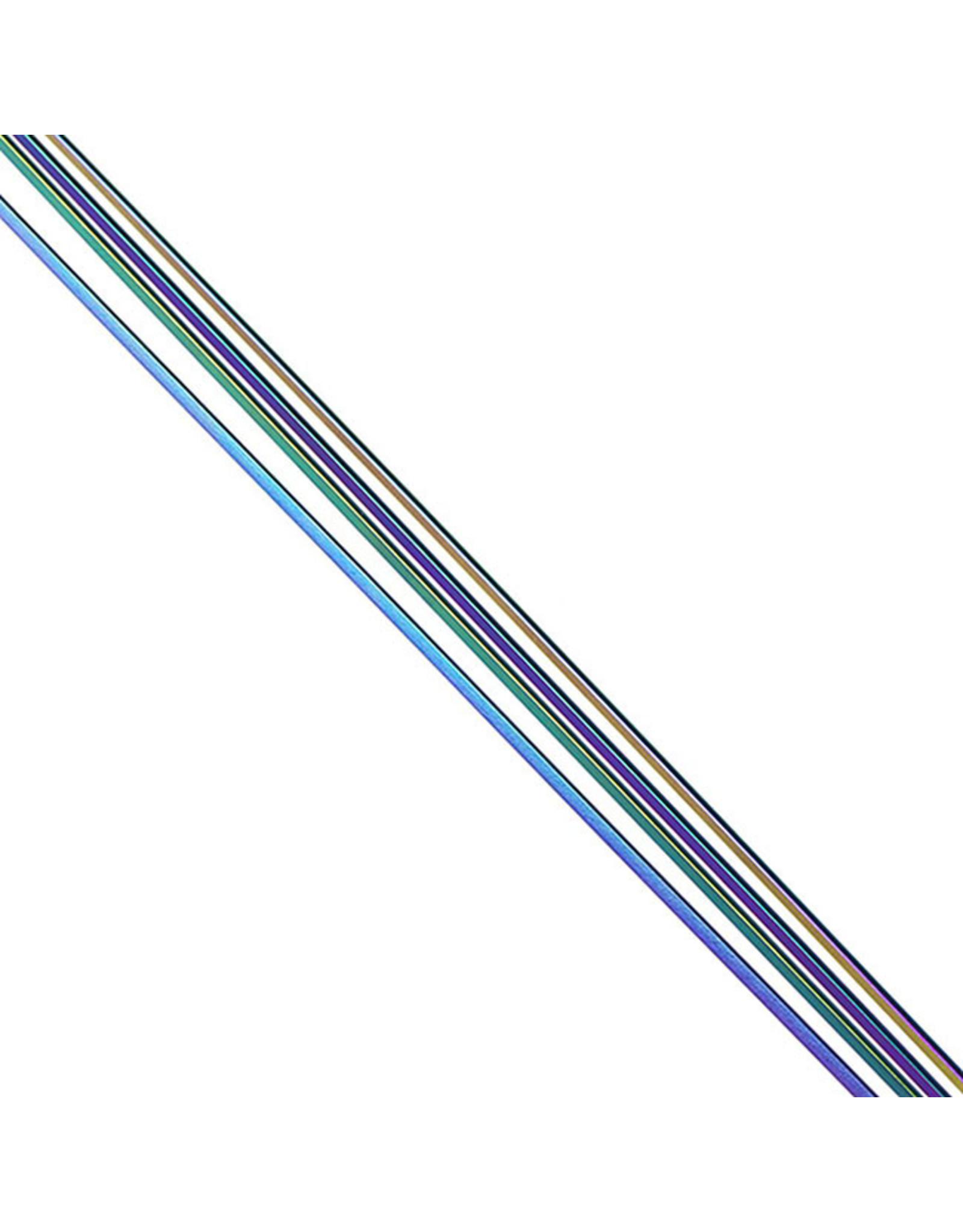 Pillar Spokes Pillar 1422 Bladed SS Rainbow Spokes