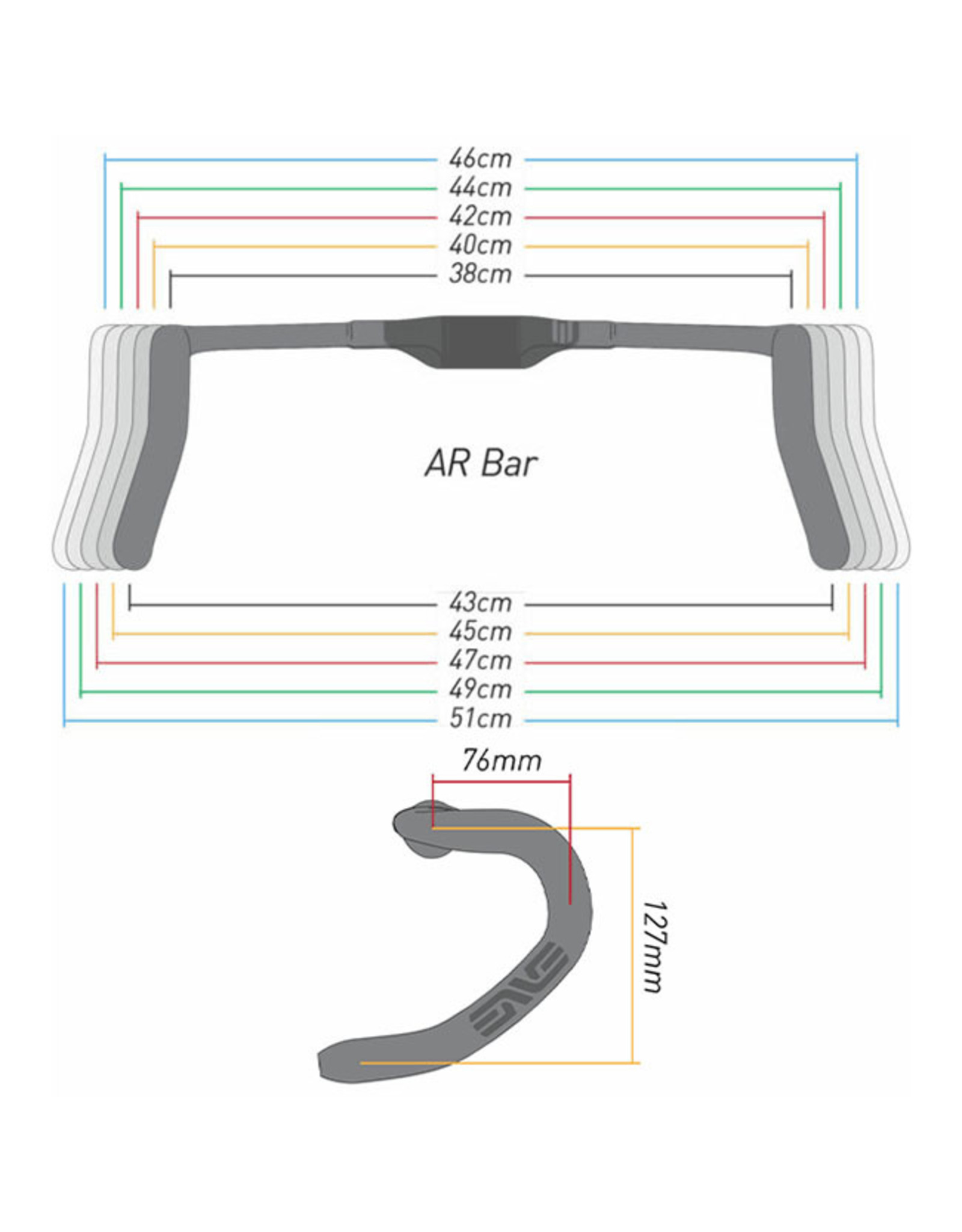 ENVE Composites ENVE SES AR Carbon Handlebar