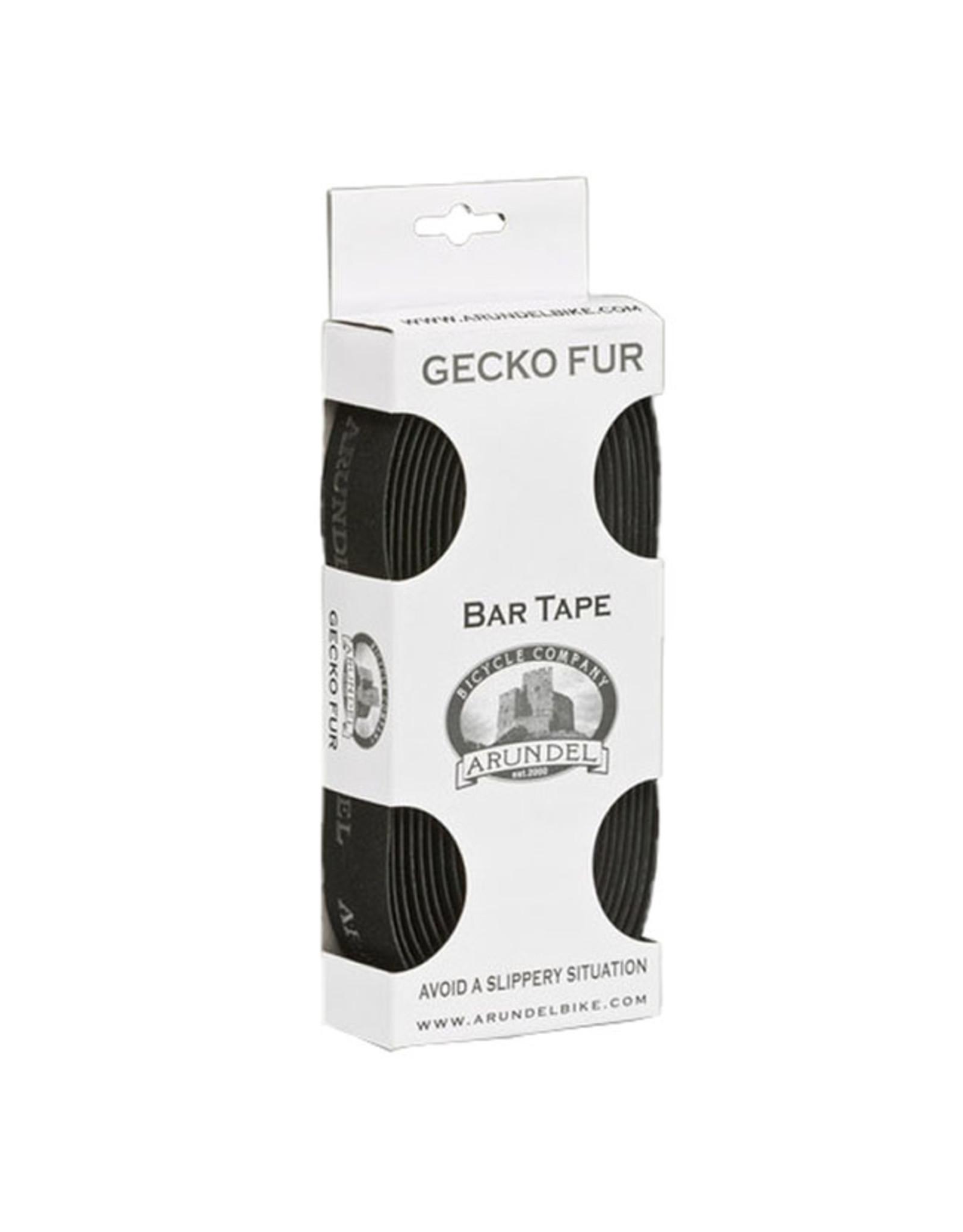 Arundel Arundel Gecko Fur Handlebar Tape Black