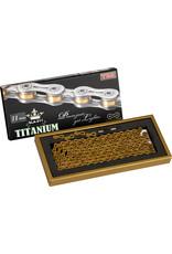YBN YBN 11 Speed Titanium Chain Gold - SLA211