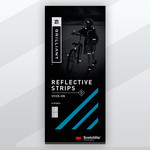 Brilliant Reflective Strips Stick-On