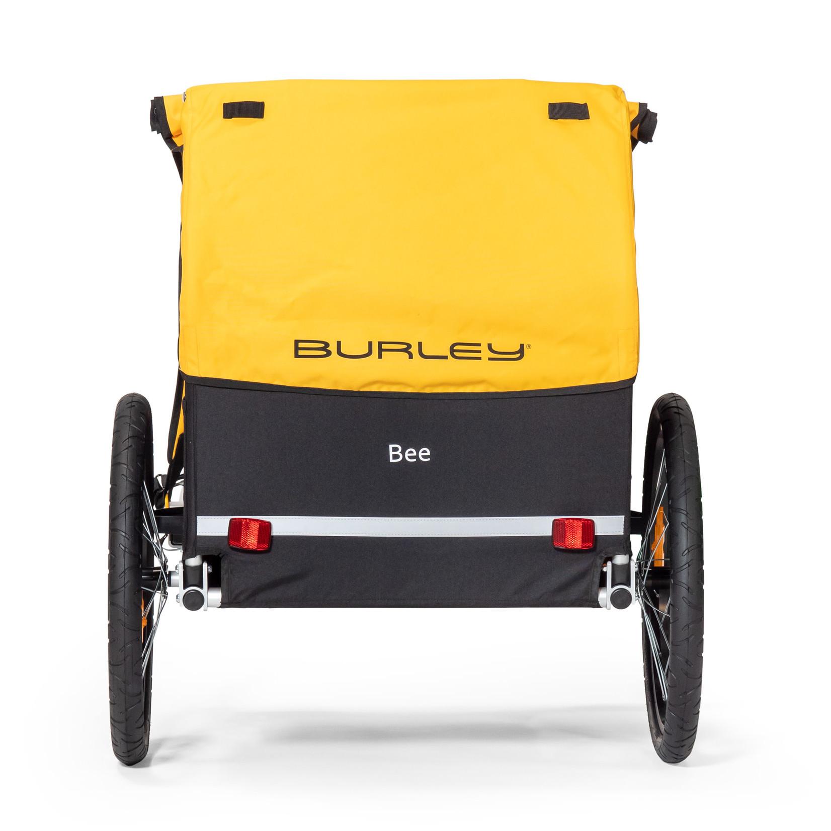 Burley Burley Bee Trailer, Double, Yellow