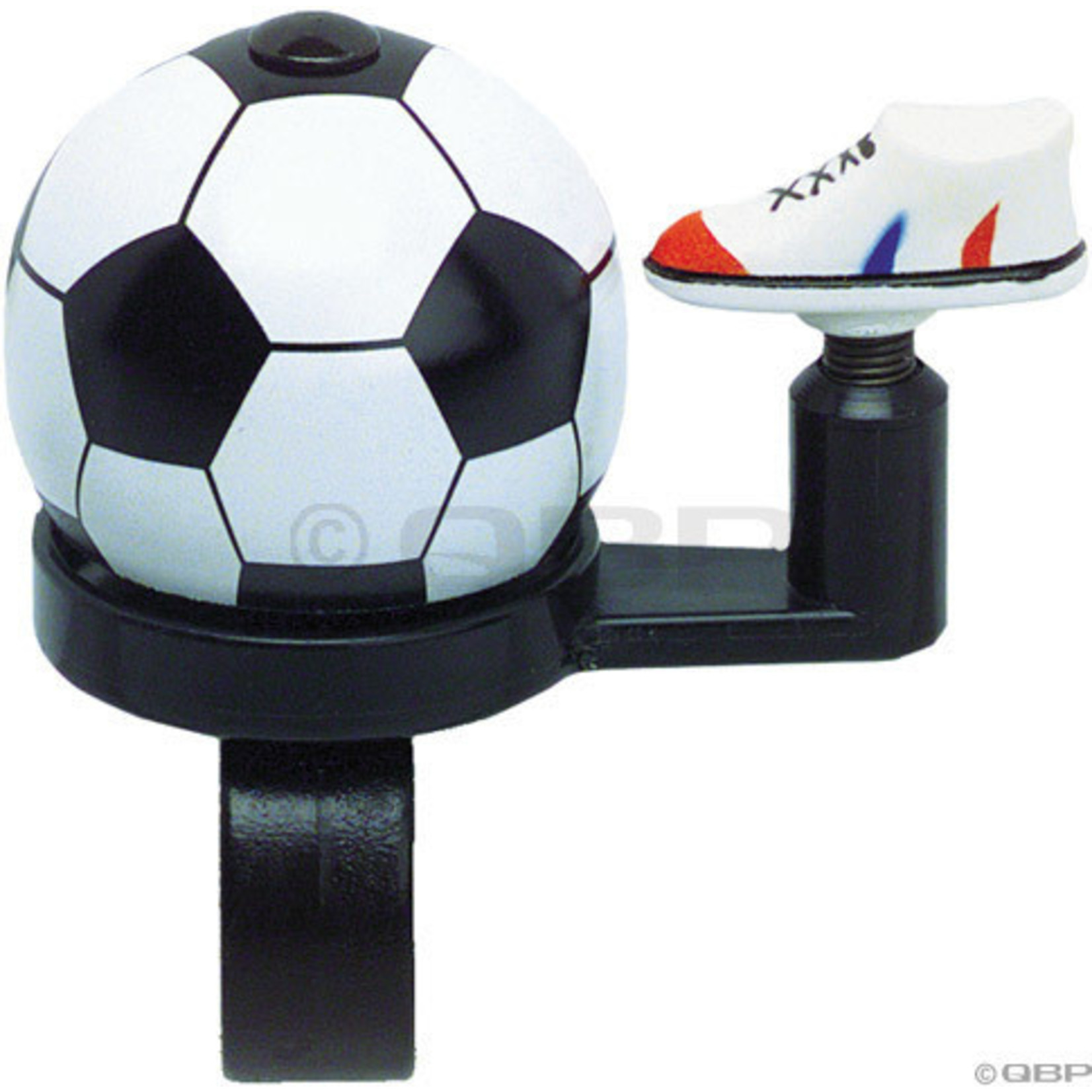 Dimension Soccer Ball with Shoe Bell