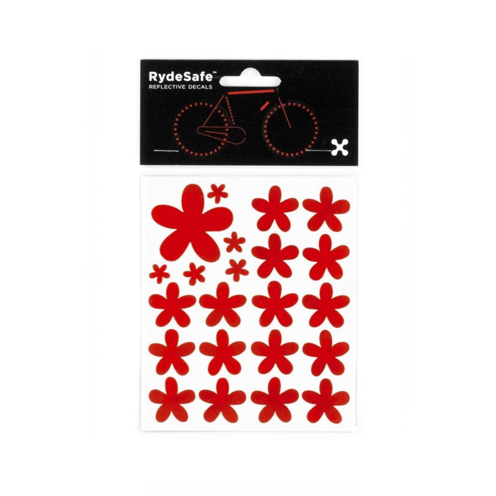 Rydesafe Reflective Flower Stickers