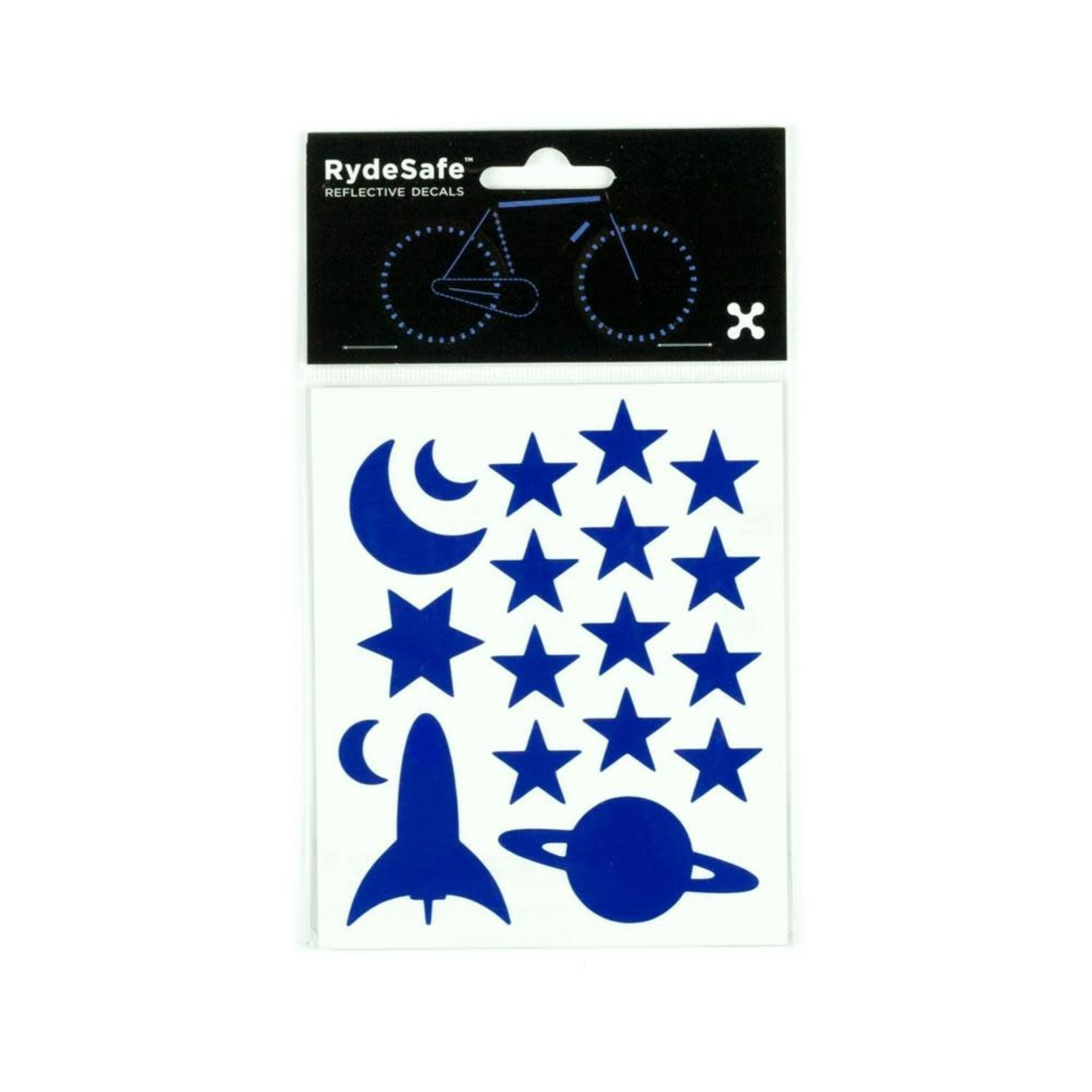 Rydesafe Reflective Outer Space Stickers